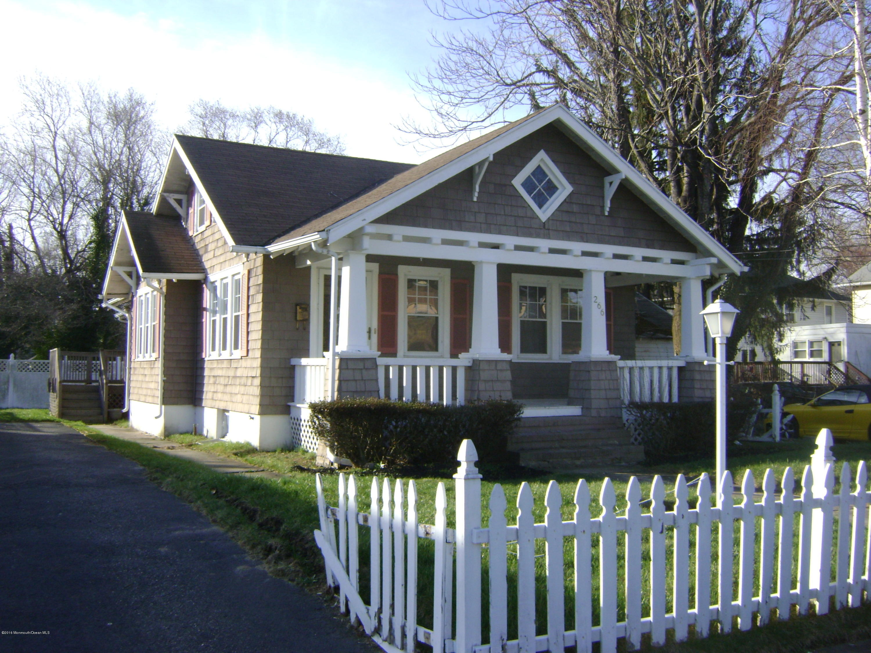 Photo of home for sale at 266 Vanderveer Place Place, Long Branch NJ