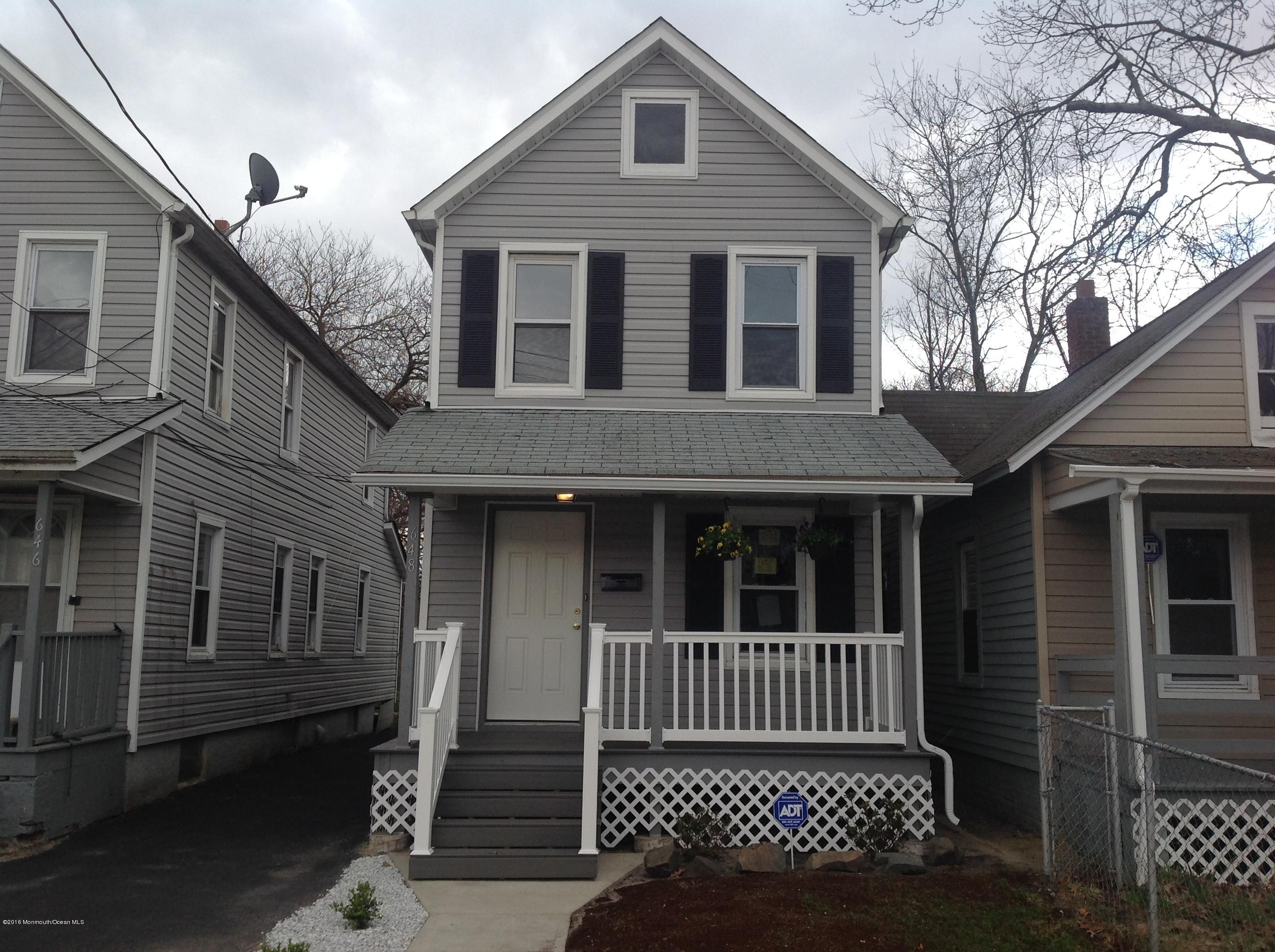 Photo of home for sale at 648 Church Street Street, Asbury Park NJ