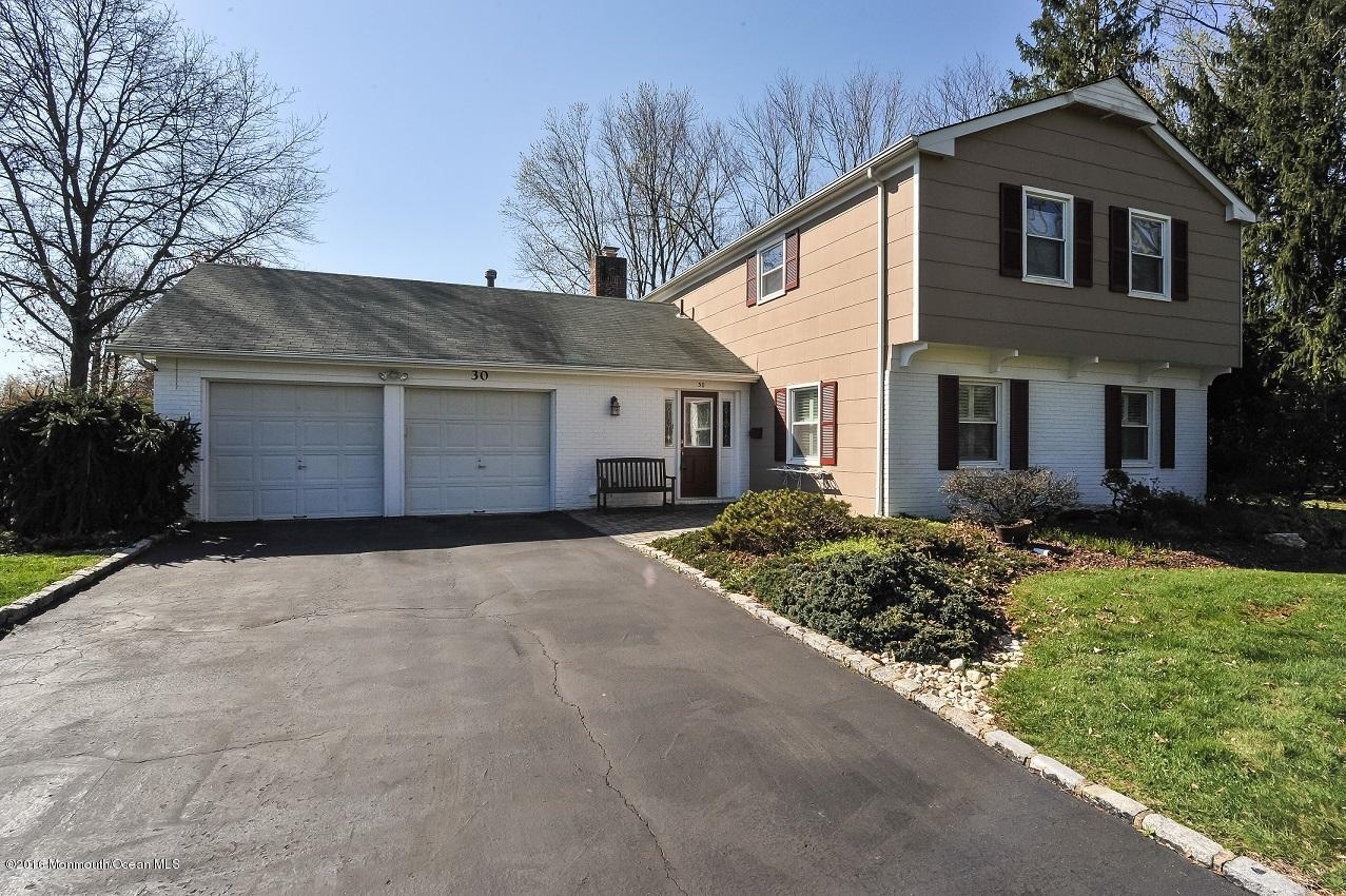 Photo of home for sale at 30 Green Mountain Road Road, Freehold NJ