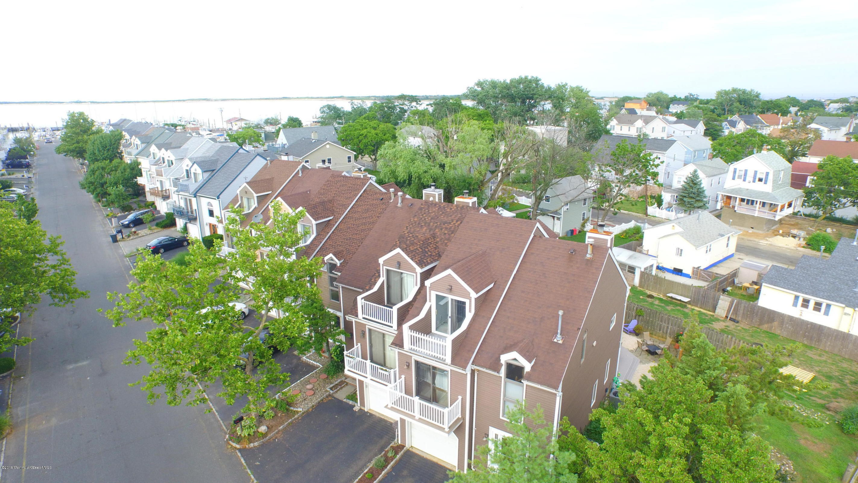 Photo of home for sale at 129 Marina Bay Court Court, Highlands NJ