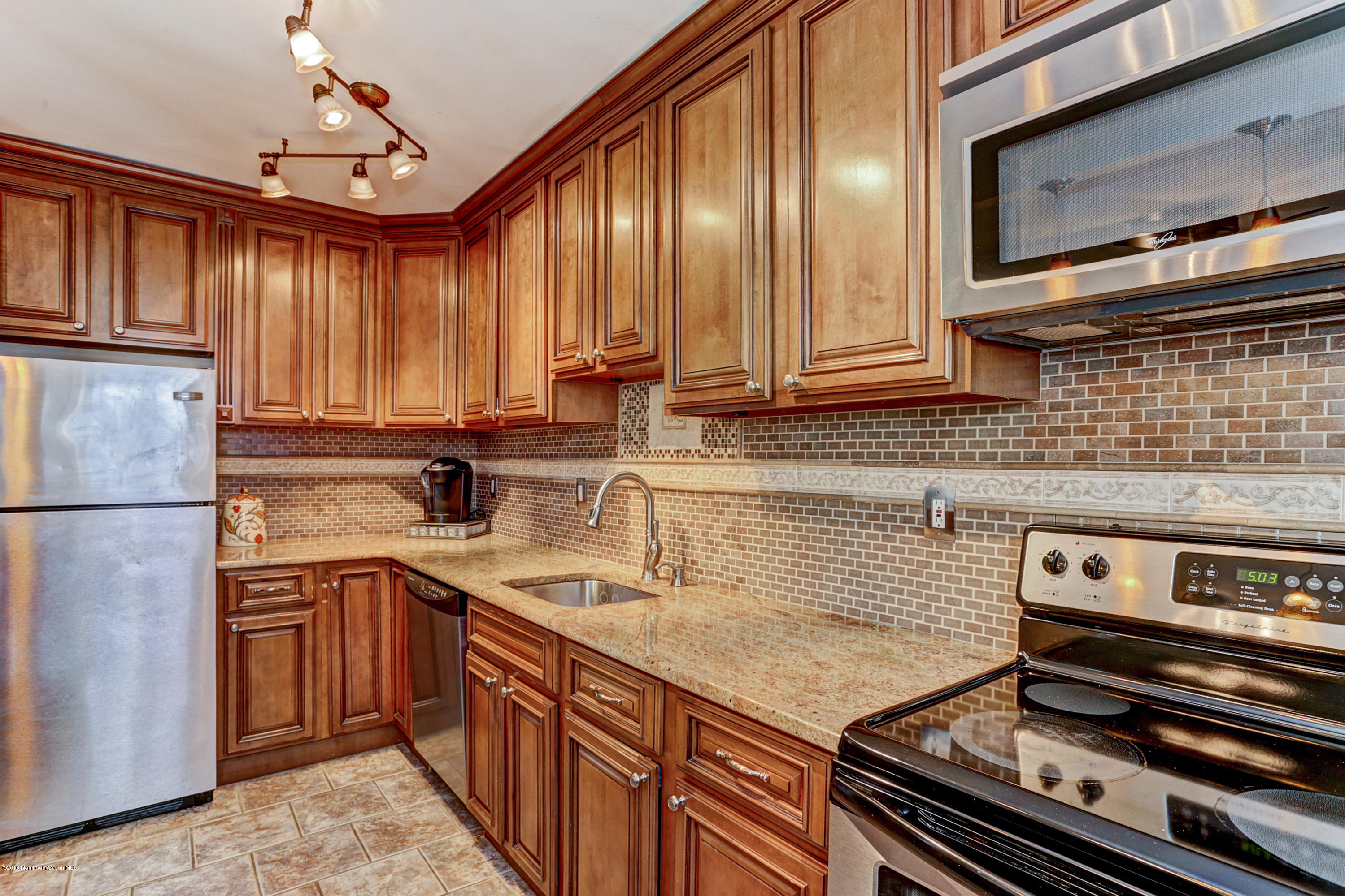 Photo of home for sale at 55 D White Street Street, Eatontown NJ