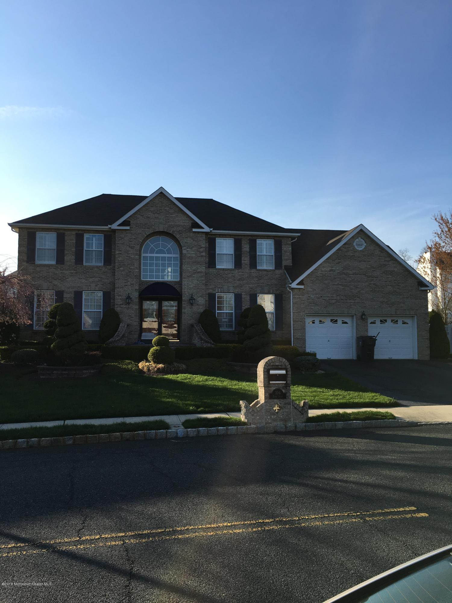 Photo of home for sale at 106 Bond Drive Drive, Morganville NJ