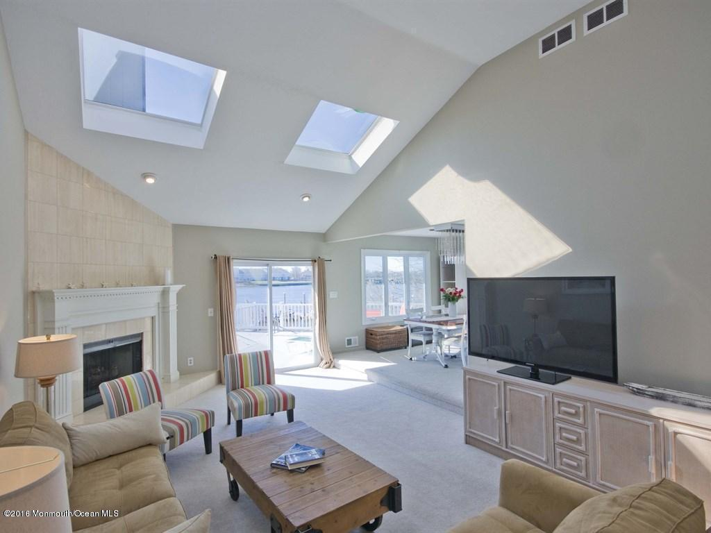 Photo of home for sale at 23 Mann Court Court, Monmouth Beach NJ