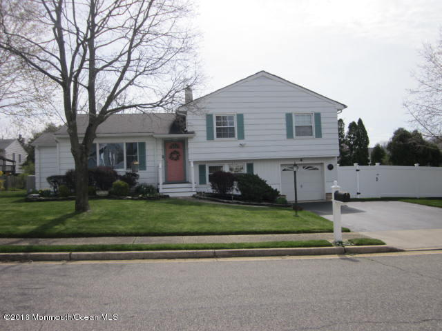 Photo of home for sale at 4 Cora Street Street, Neptune Township NJ