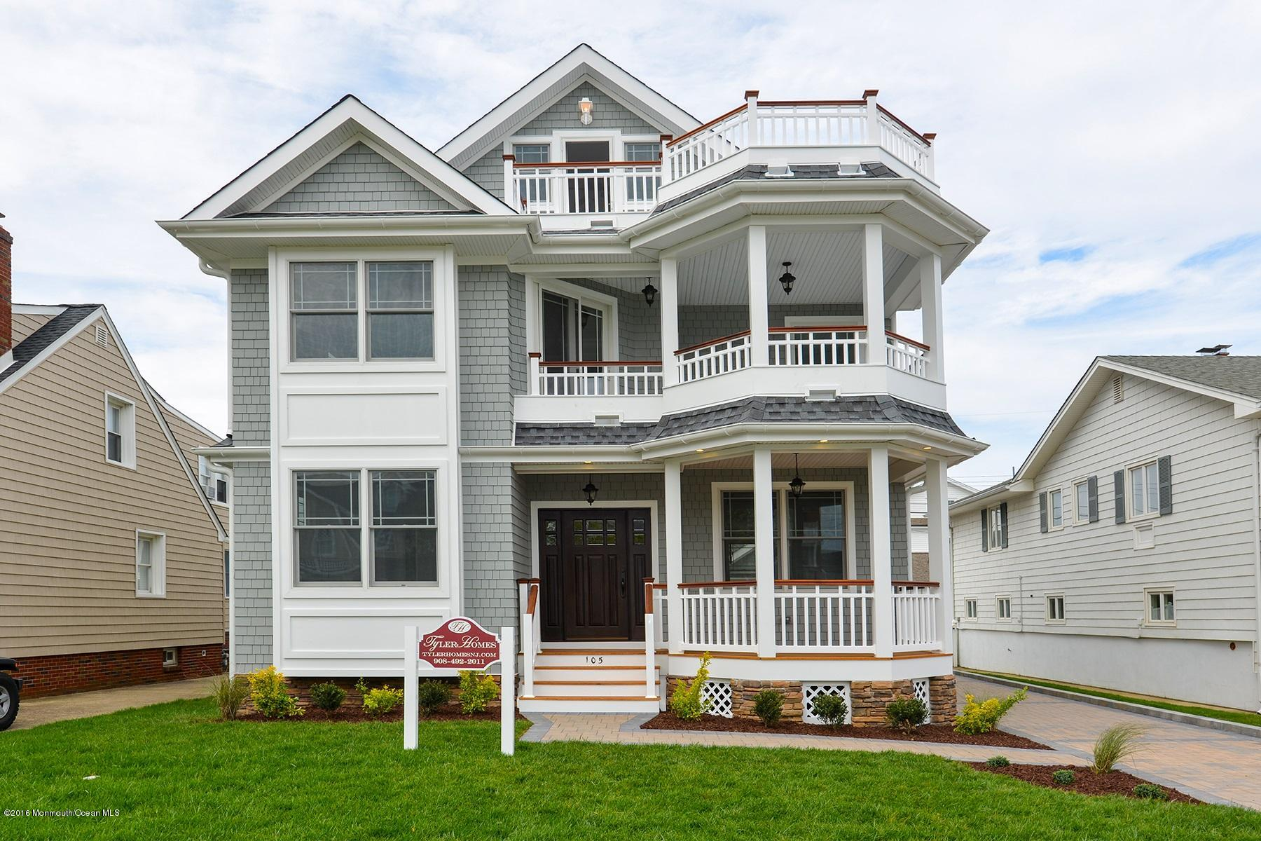 Photo of home for sale at 105 Seaside Place Place, Sea Girt NJ
