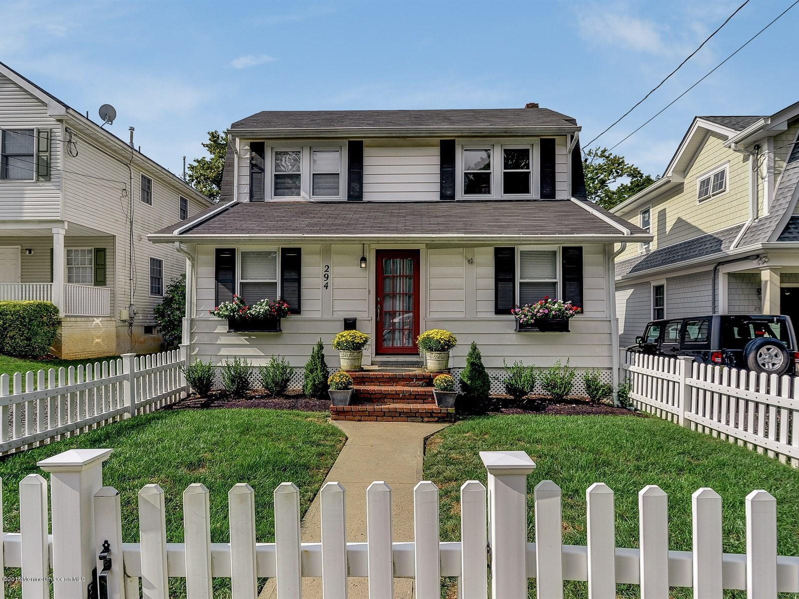 Photo of home for sale at 294 Spring Street Street, Red Bank NJ