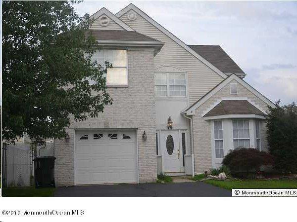 Photo of home for sale at 34 Skyline Drive Drive, Hazlet NJ