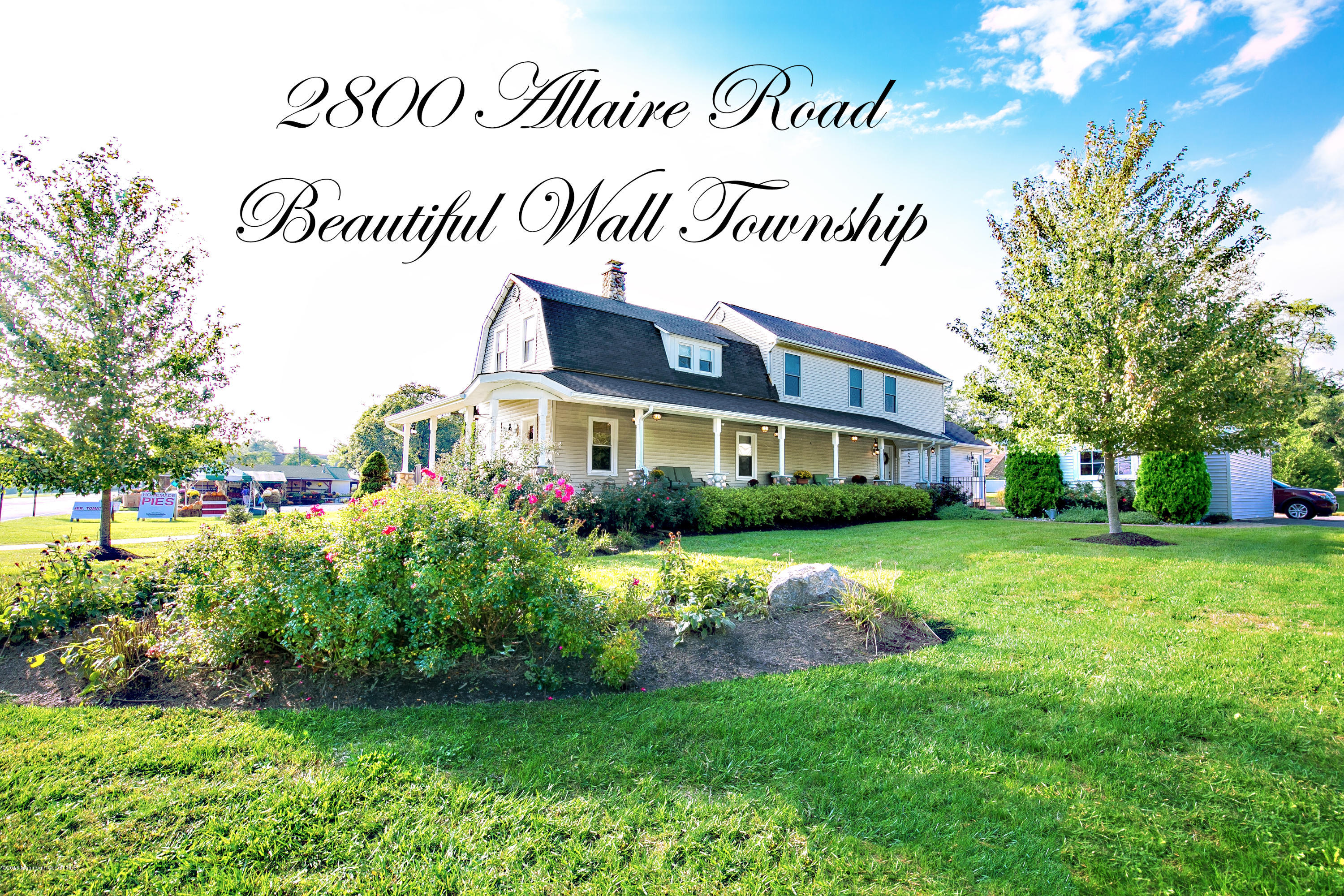Photo of home for sale at 2800 Allaire Road Road, Wall NJ