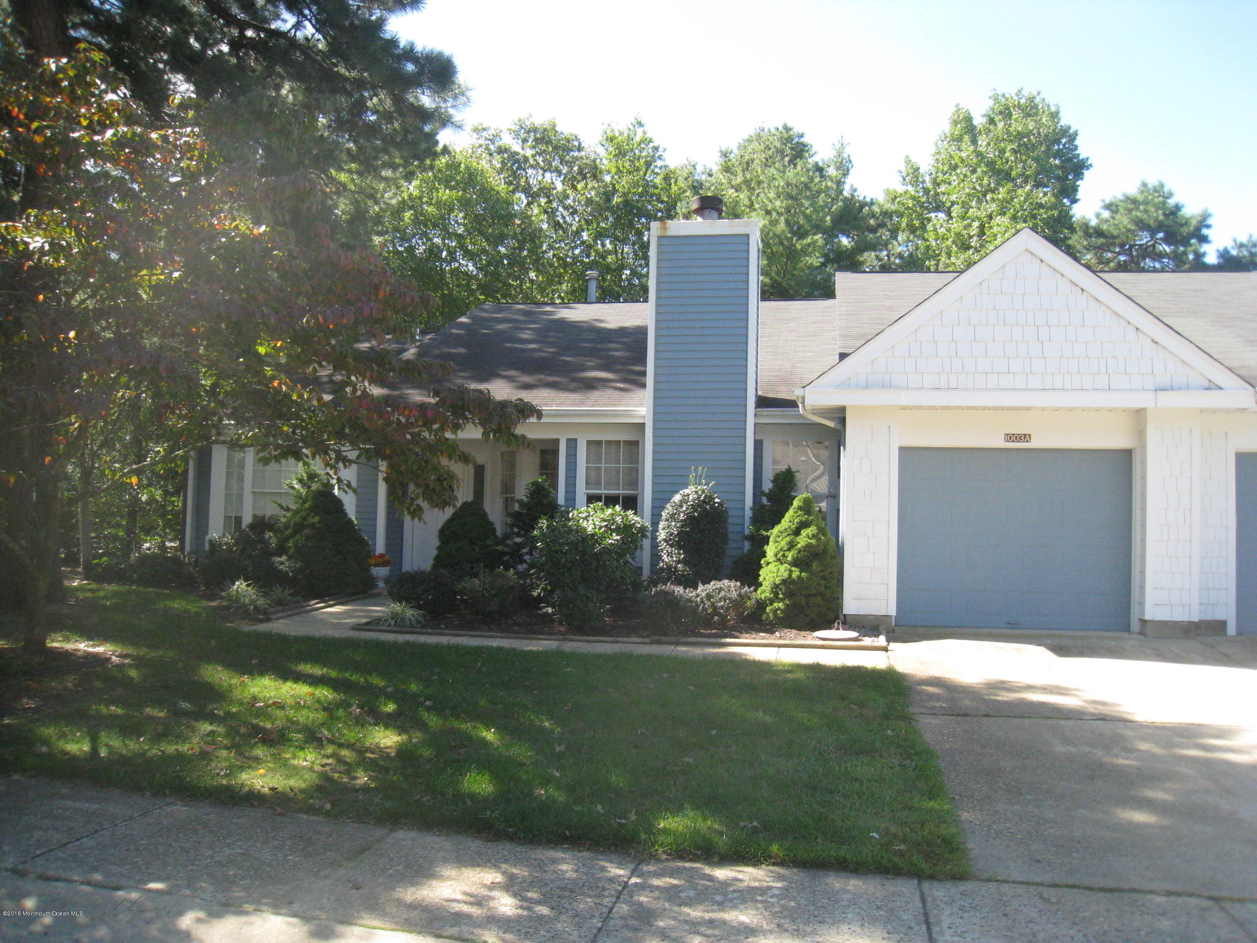 Photo of home for sale at 1003a Buckingham Drive Drive, Manchester NJ