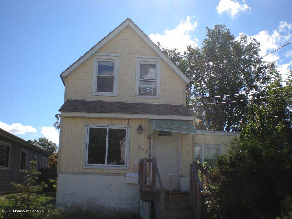Photo of home for sale at 562 Winter Street Street, Long Branch NJ