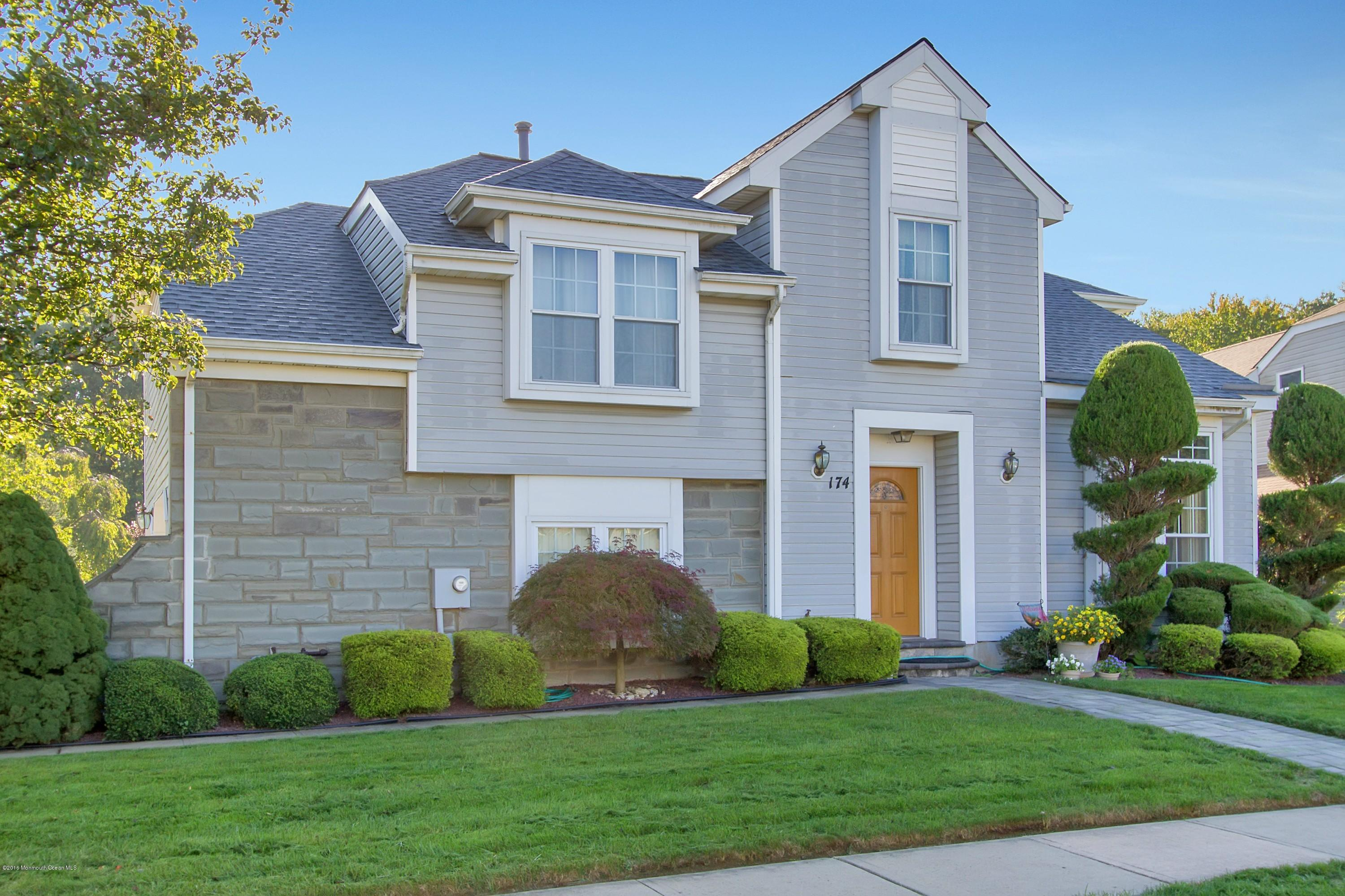 Photo of home for sale at 174 Kentucky Way Way, Freehold NJ