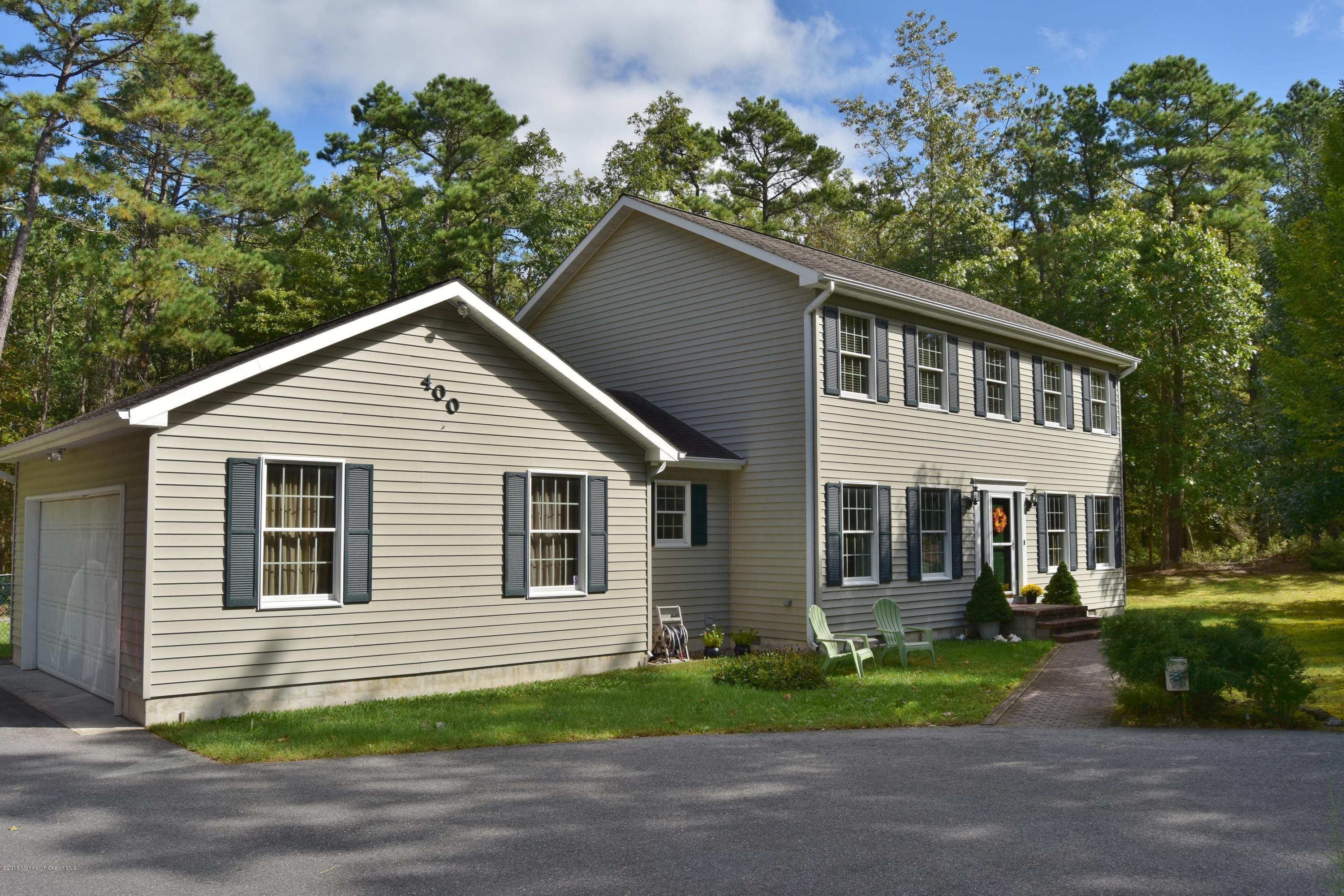 Photo of home for sale at 400 Stage Road Road, Little Egg Harbor NJ
