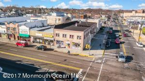 (Click virtual tour to view drone video of property!) This great Asbury Park Mixed property is in the redevelopment zone on a major intersection in Asbury Park! Commercial building fully rented, 4 Apartments (2-3 bedrooms each) and Large 4,000 Commercial Space on 1st Floor. This property has the potential to generate more income with just a little bit of work. Zoning for this building will allow up to a 45 ft tall building with site approvals. Asbury Park has received a grant to redevelop the main st corridor from the state and is primed for continued growth. Don't miss this Prime Opportunity to buy a great multi use building at the city by the sea while you still can!