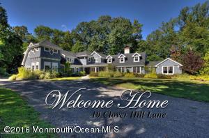 Property for sale at 10 Clover Hill Lane, Colts Neck,  NJ 07722