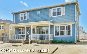 Seashore Colonial located in beautiful beach town of Lavallette!! 3 Bedroom /2 Full Bath Home with lots of charm and character featuring front porch and 2nd floor balcony to sit back and enjoy the sea breeze! Large lot of 50x100 with spacious yard and Outdoor Shower!! Large Bedrooms & Off street Parking, well maintained, perfect summer home, investment property or great for year-round living!! Just a couple of blocks from bay, beach shops and restaurants!!  *Bonus* All furniture is included!