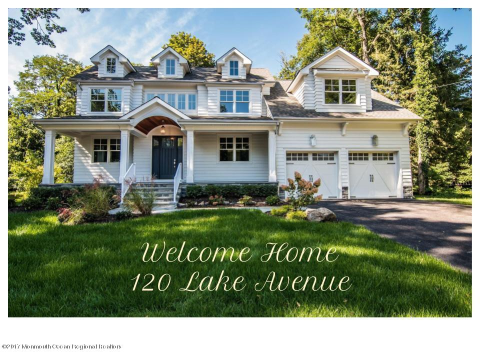 120 LAKE AVENUE, FAIR HAVEN, NJ 07704
