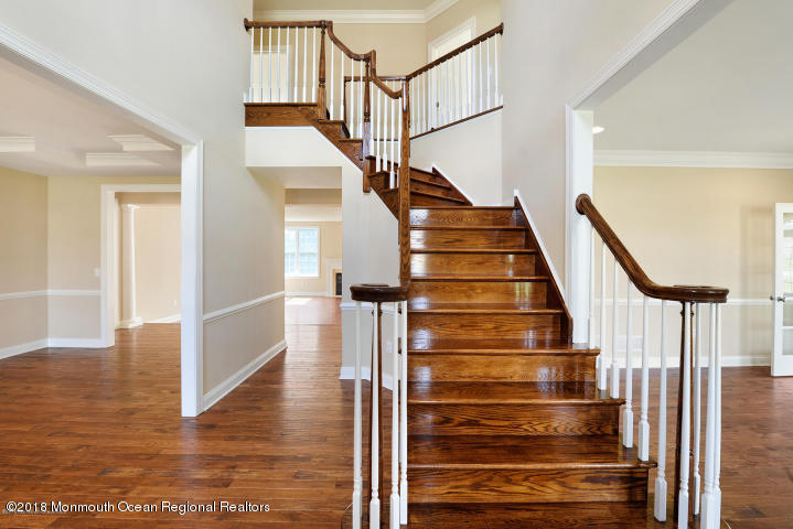 Center Hall Stairway