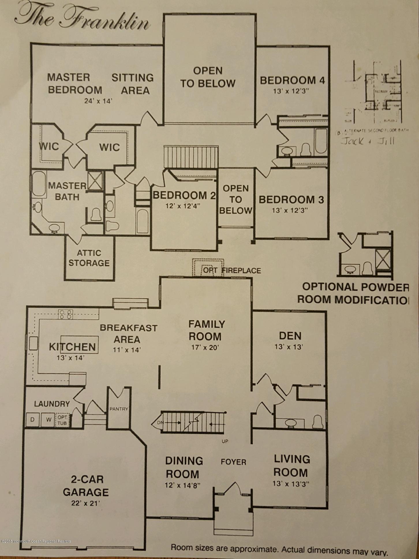 fraklin model layout