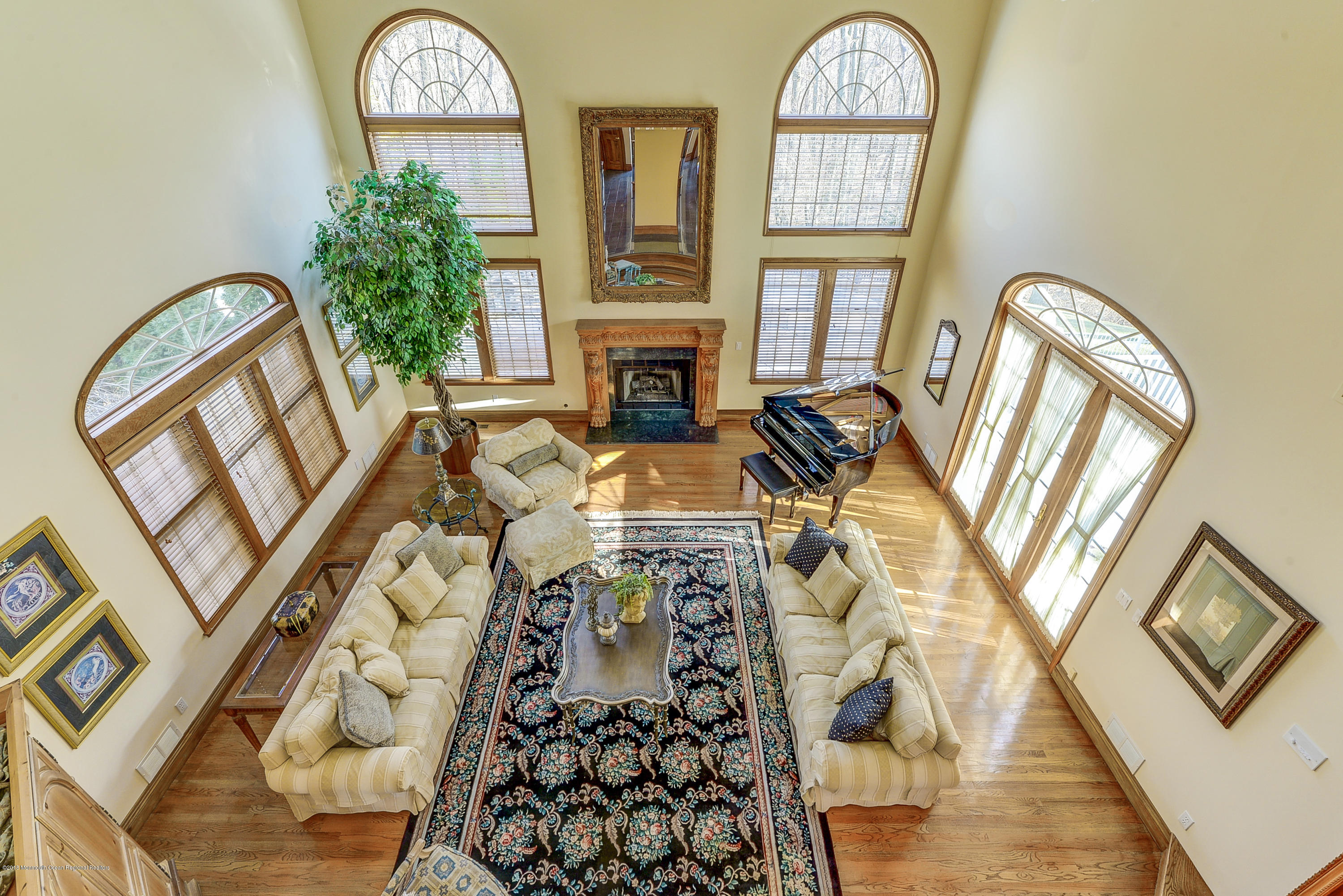 View of Family Room from Above