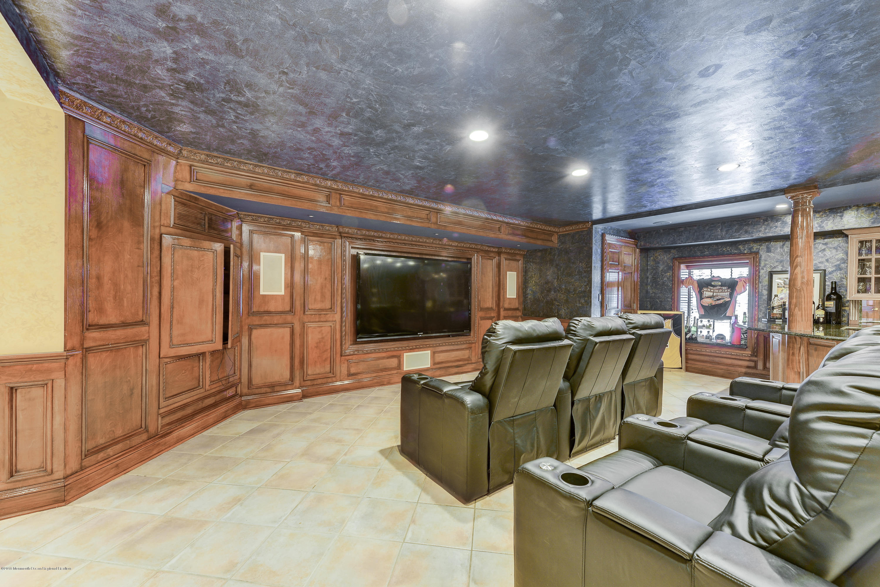 Theater in Basement