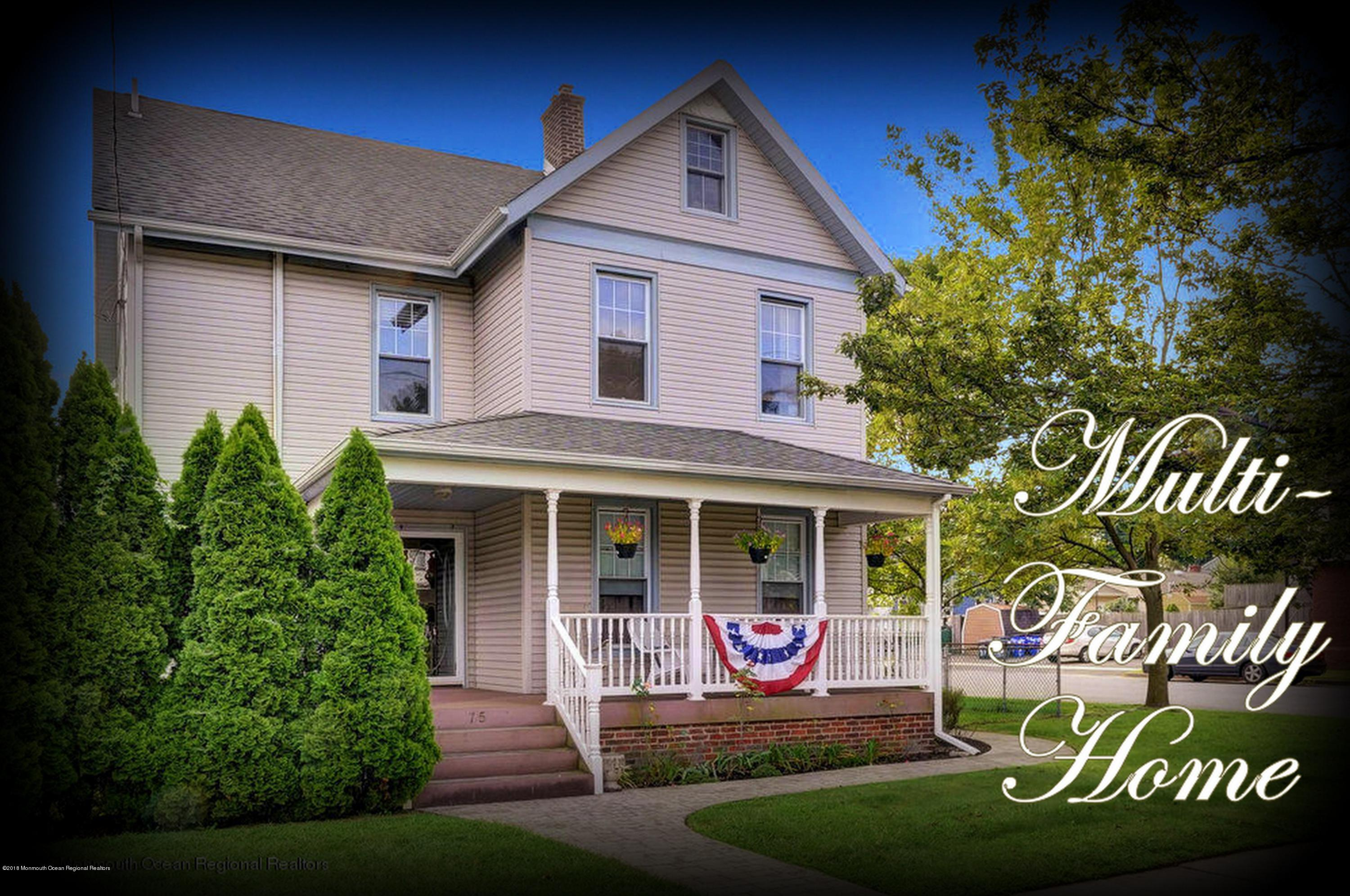 Multi Family Home For Sale At 75 Broadway 75 Broadway Keyport,