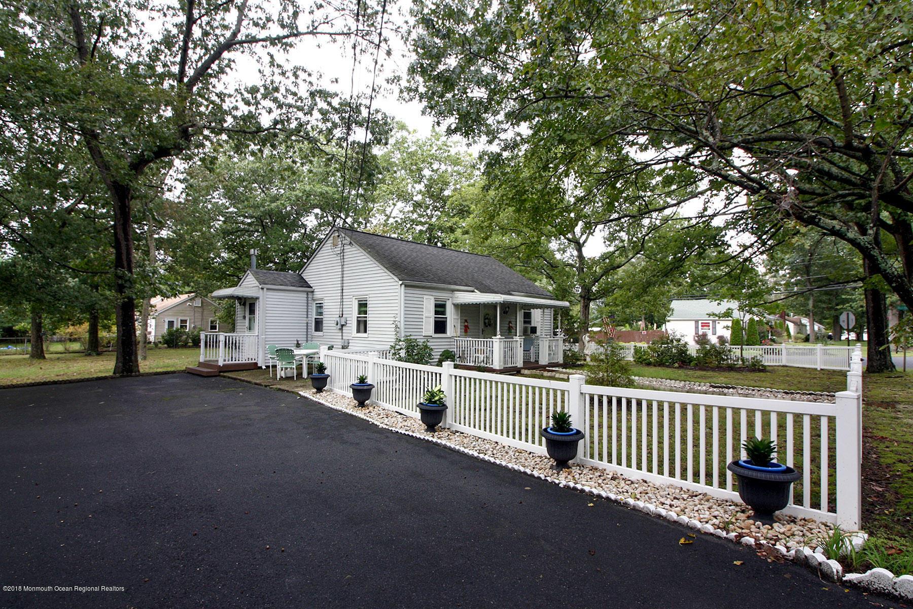 Side Door & Driveway Of Home