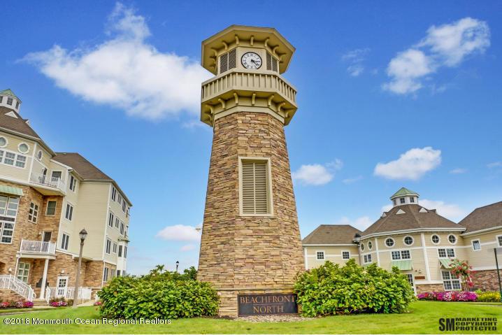Beachfront north front clock tower