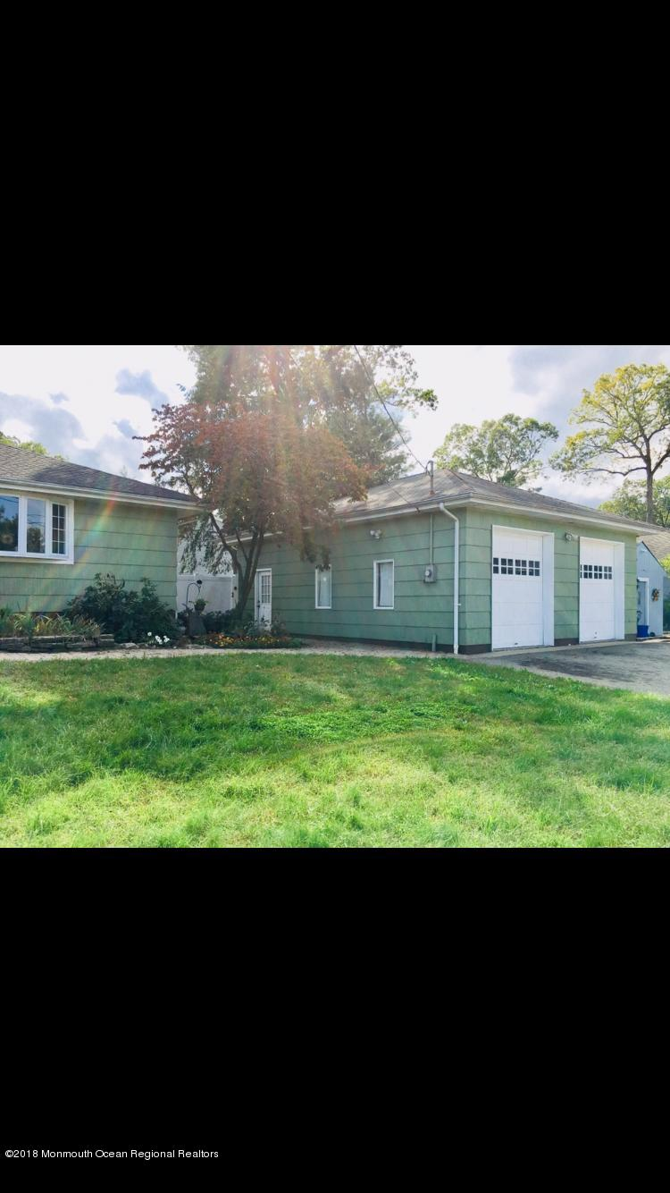 Front of House with Garage