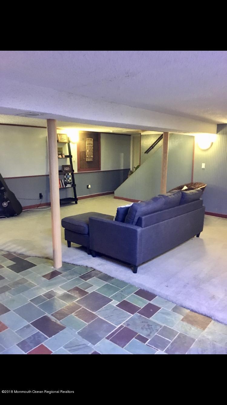 Basement Slate Flooring