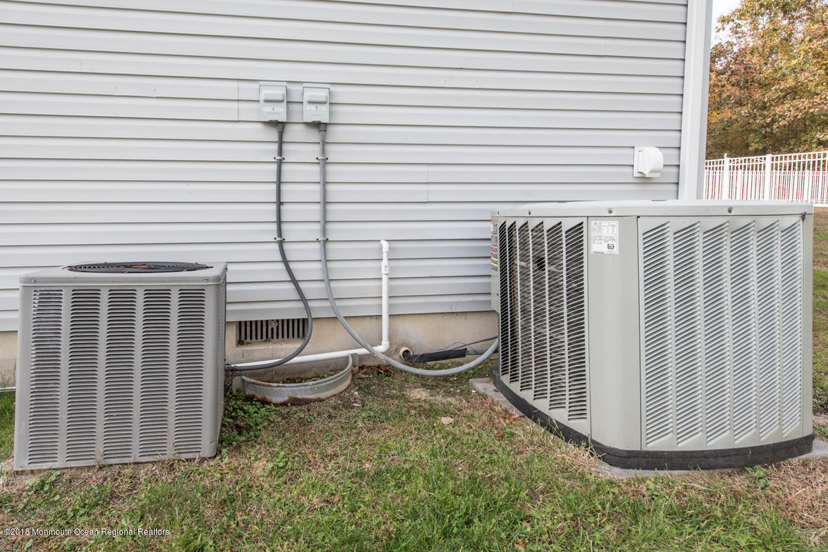 AC Units on Side of House