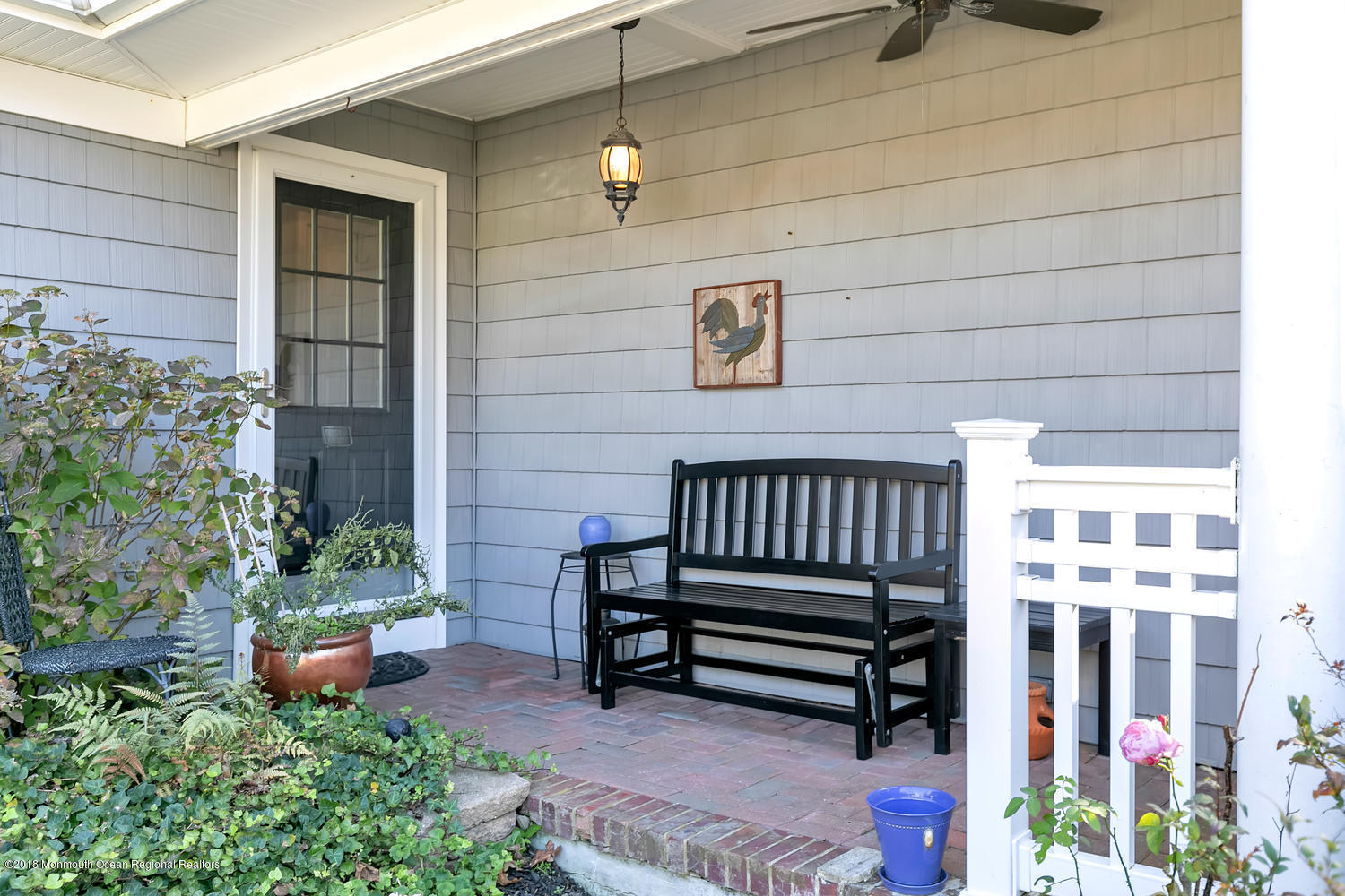 Welcoming Covered Porch entry