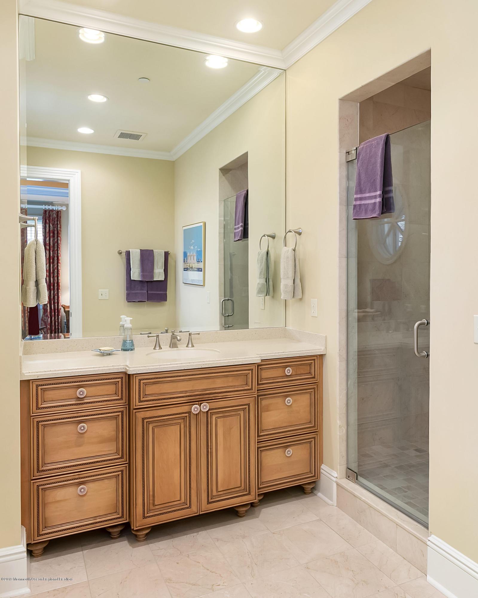 Bedroom 3 Vanity & Walk in Shower