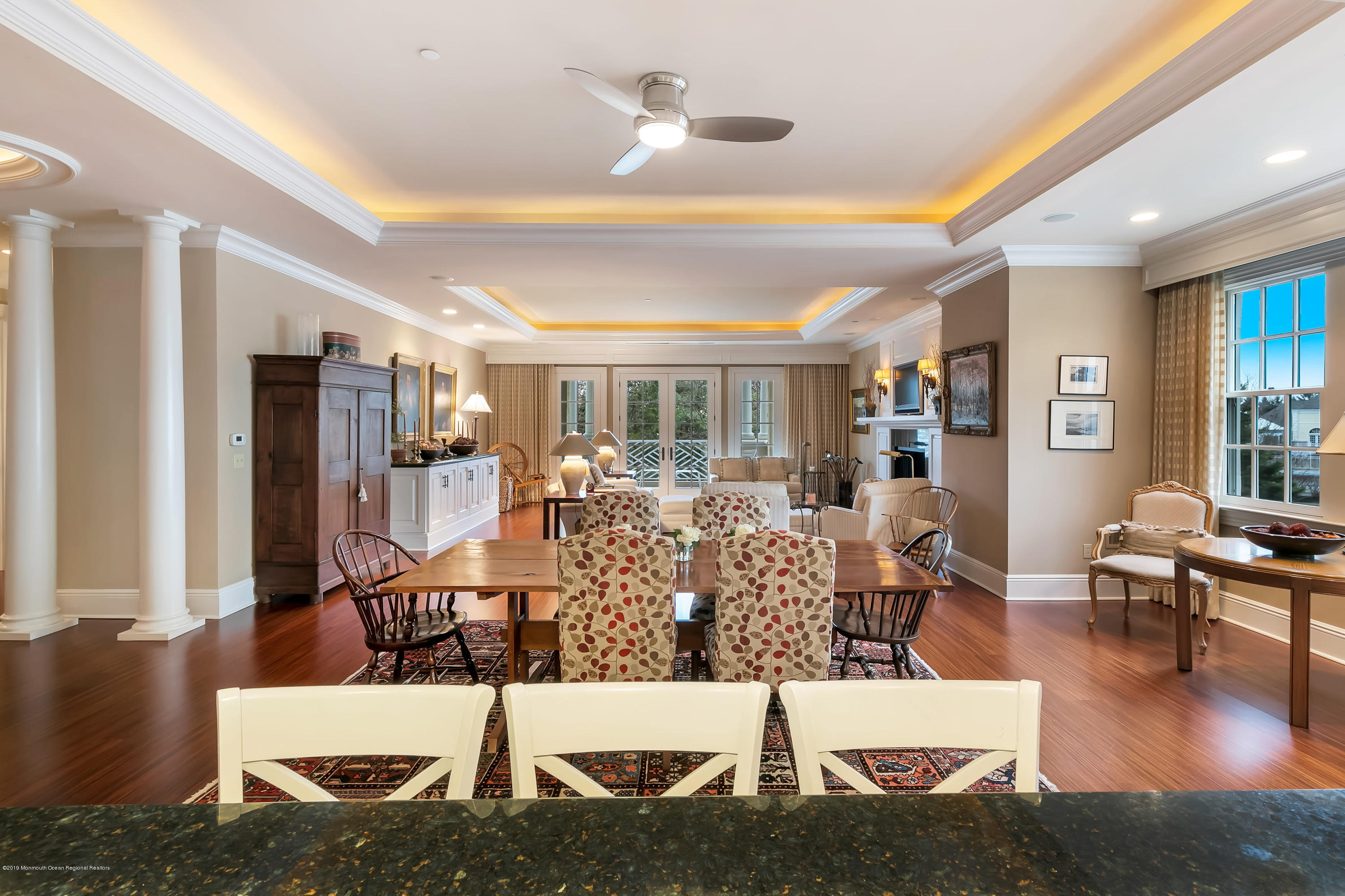 Kitchen, Dining, Great Room To Terrace
