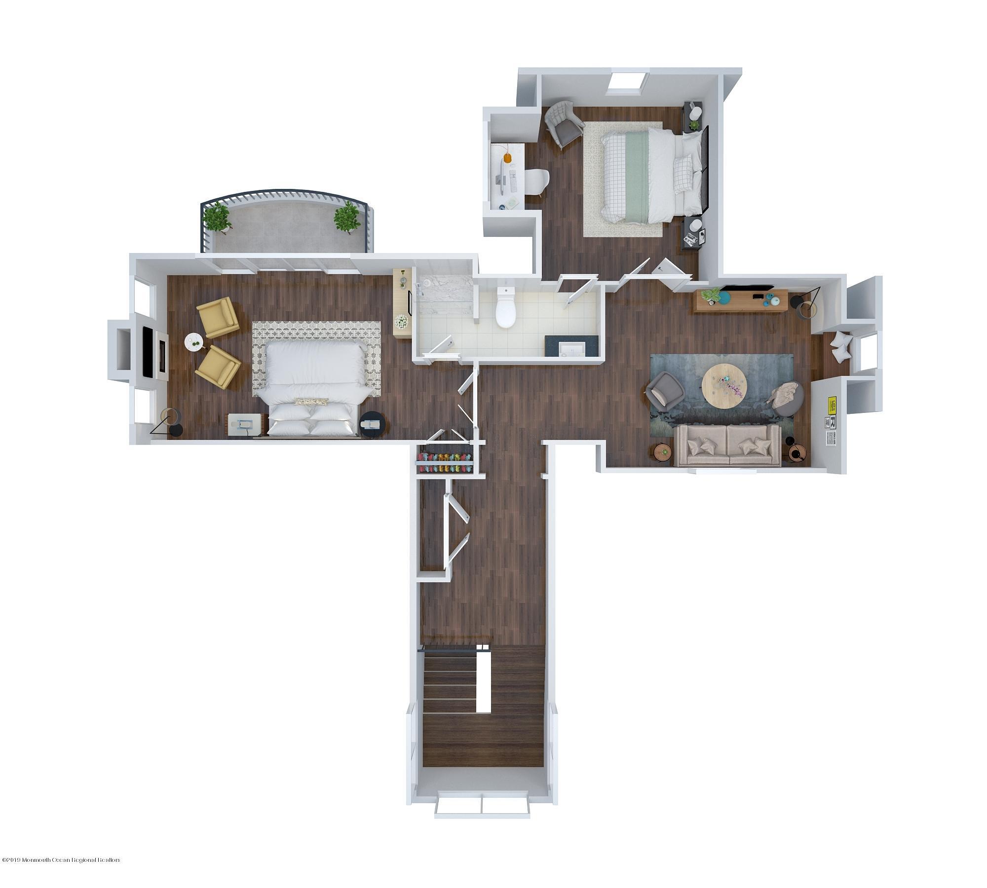 Half story floor-1