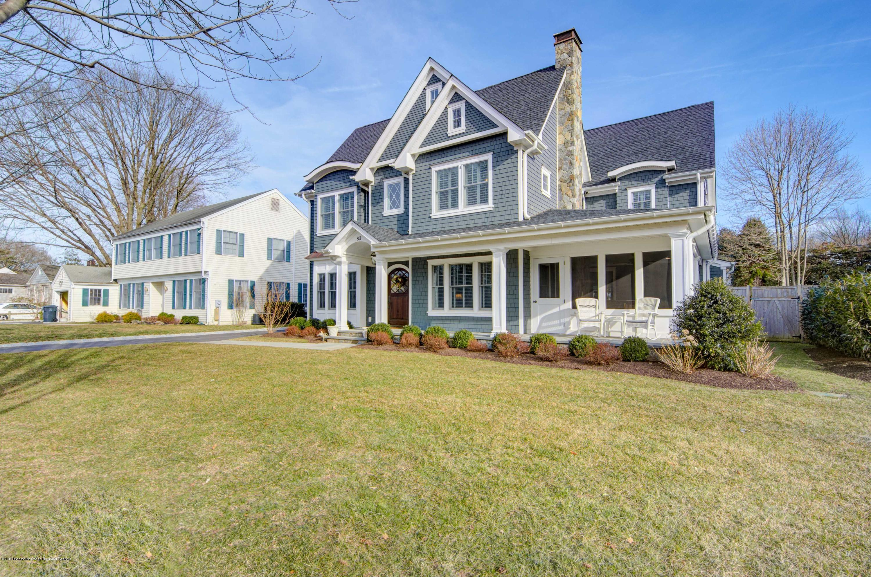 83 Princeton Road, Fair Haven, New Jersey
