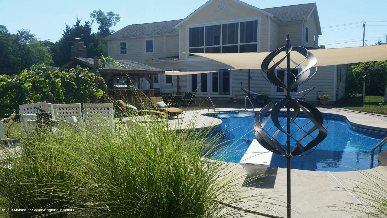 salt water swimming pool
