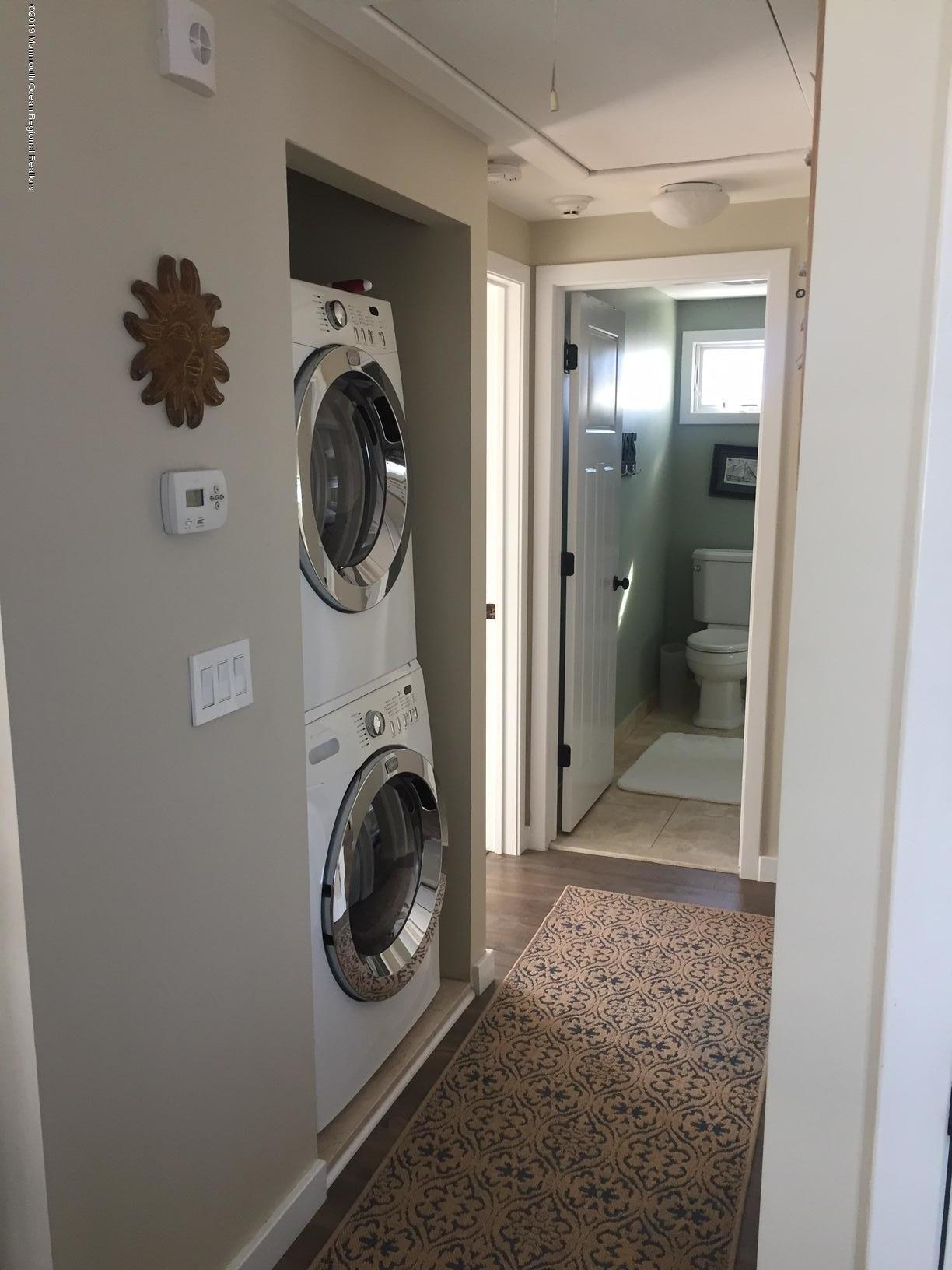 Washer and dryer in apt