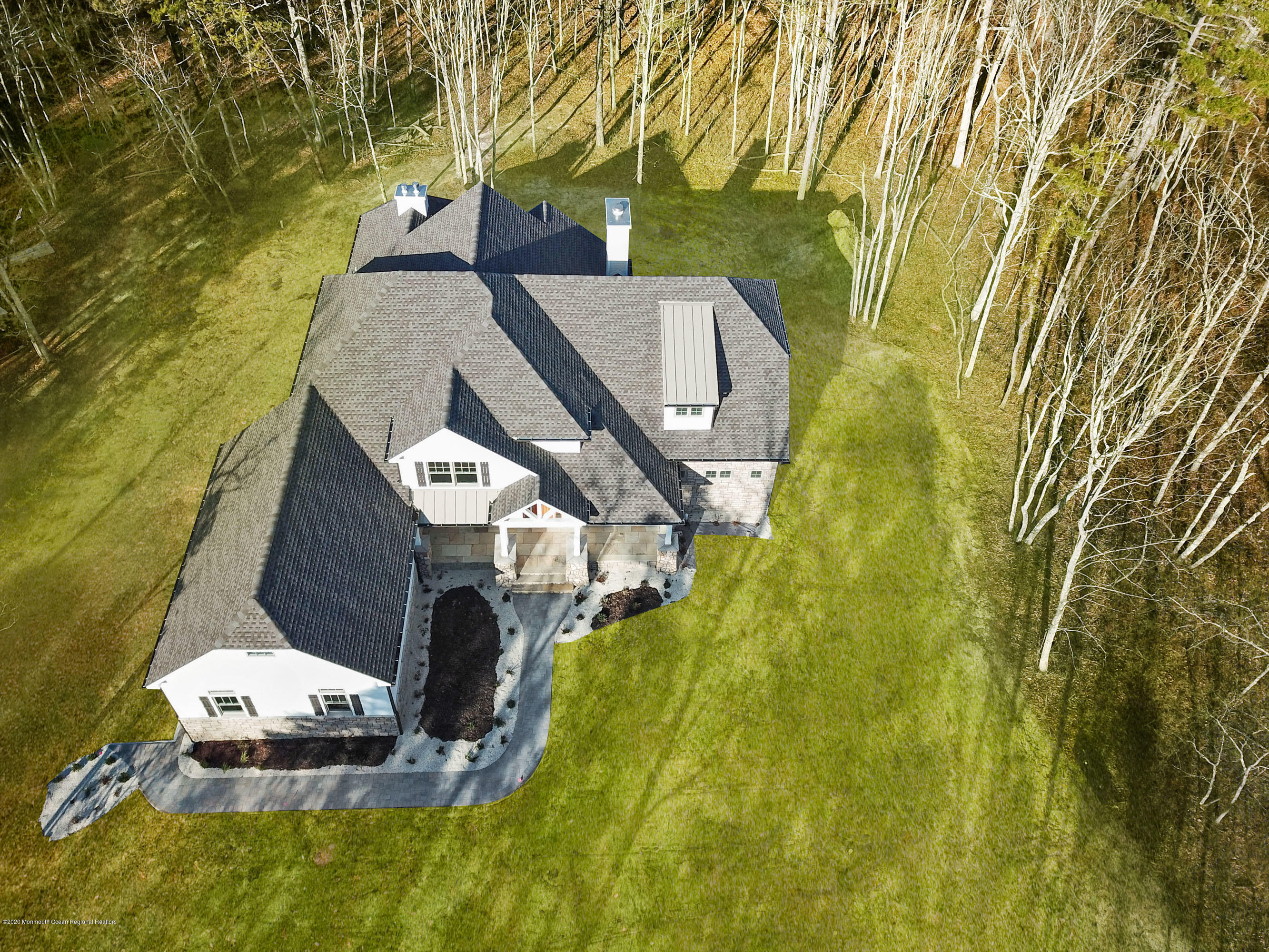 N. Pointe 9 Aerial with Grass
