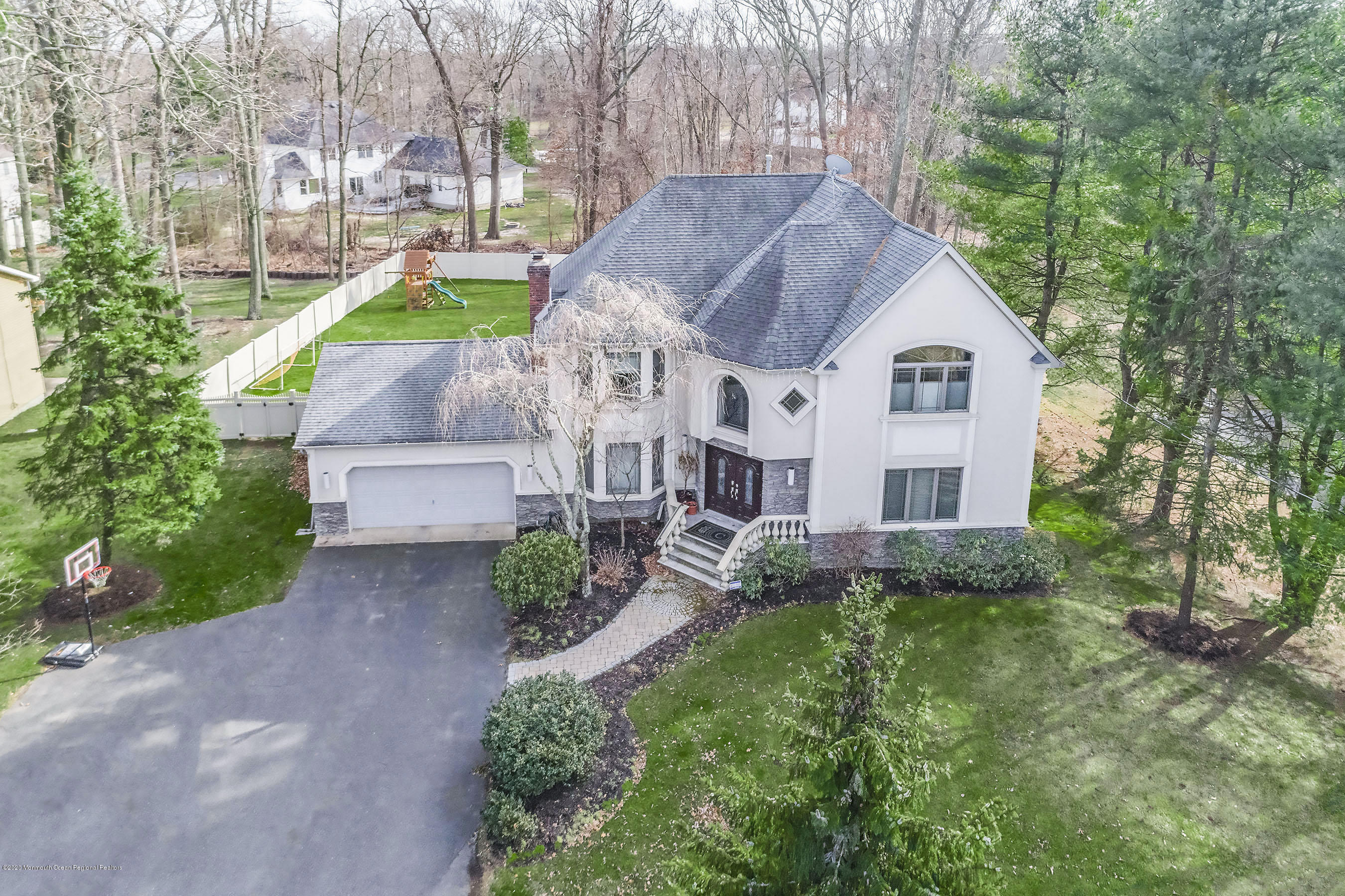 Aerial Front of Home