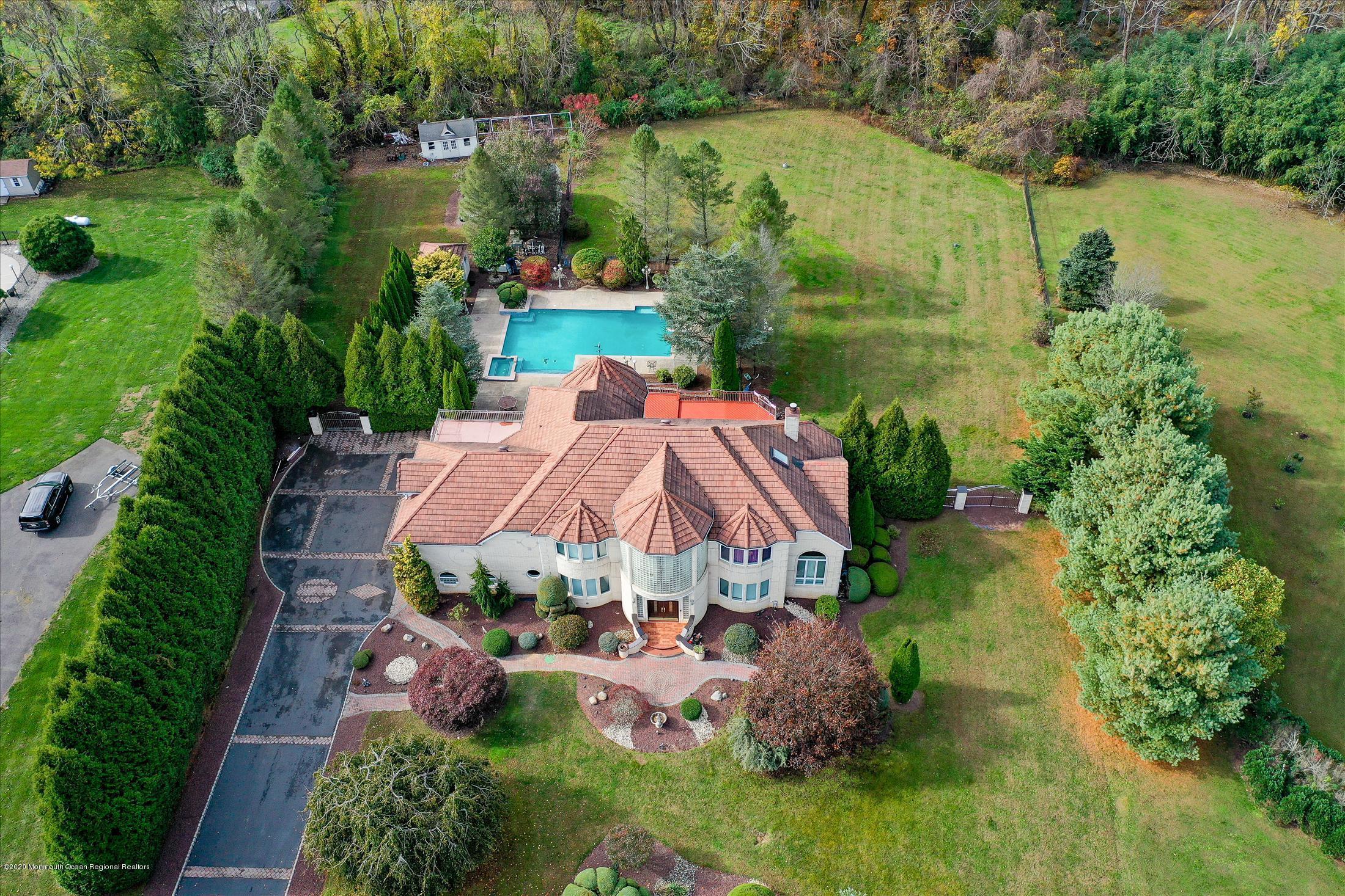 Brick Estate Home