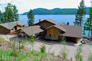 Single Family Home for Sale at 3638 East Lakeshore Drive Whitefish, Montana 59937 United States