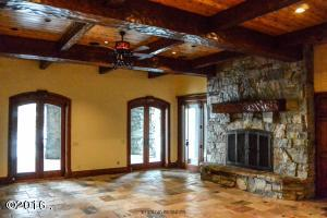 Lower Level with Second Fireplace