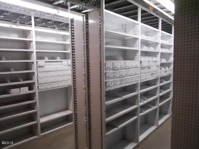 Service Parts Area