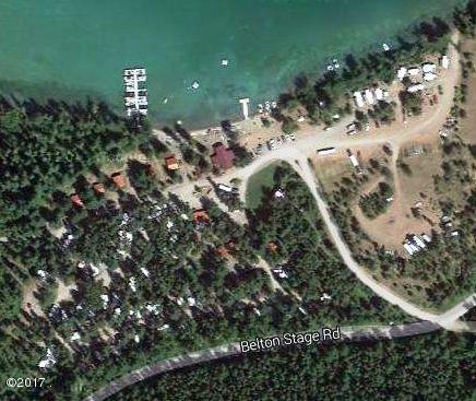 Aerial of Lake Five Resort