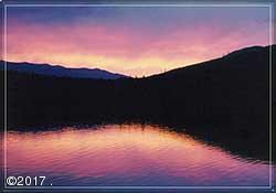 Beautilful Sunset, Lake Five