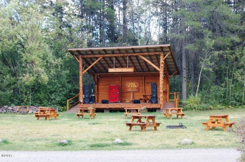Belton Stage Entertainment Area