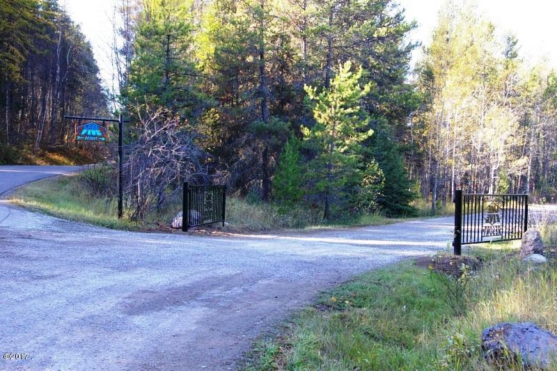 entrance to Lake Five, gate