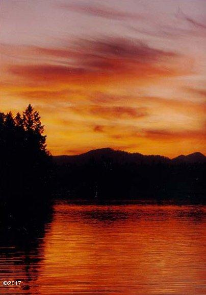 Sunset over Lake Five