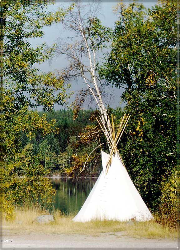 TeePee By the Lake