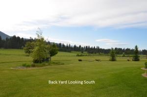 Back Yard  Looking South